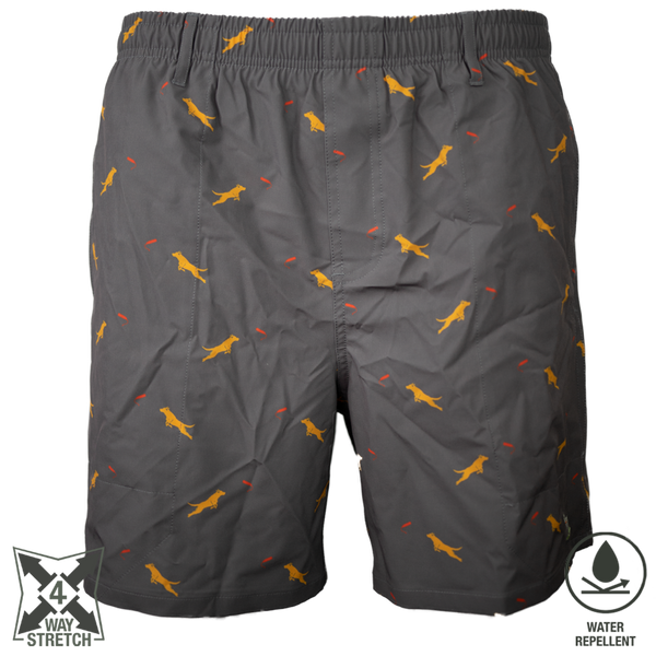 Dock Dog Swim Trunk Graphite
