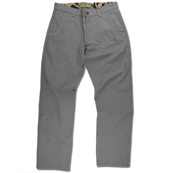 Hunt River Field Pant Smoke Grey