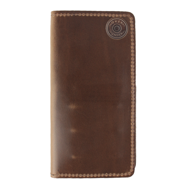 Horween Checkbook Wallet w/o Shot Shell