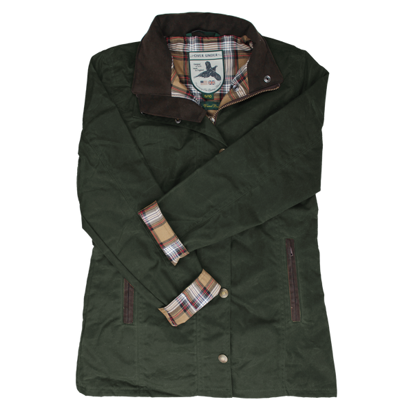 Women's Waxed Briar Jacket Olive