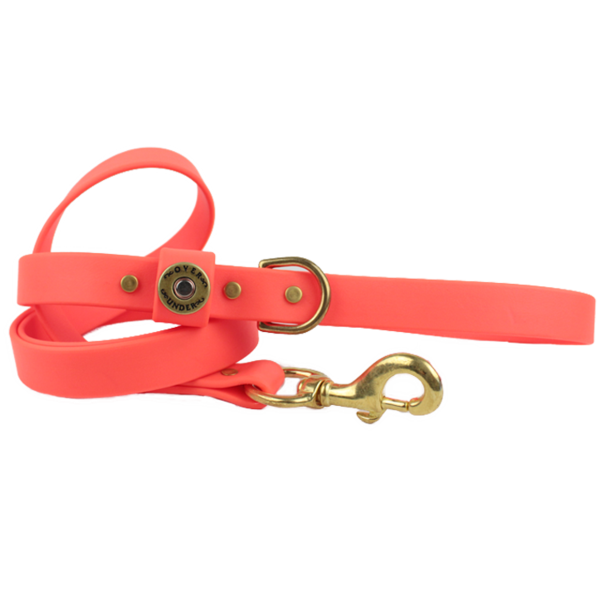 Water Dog Leash Blaze Orange
