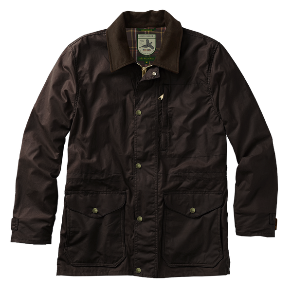 Waxed Briar Jacket Rich Brown