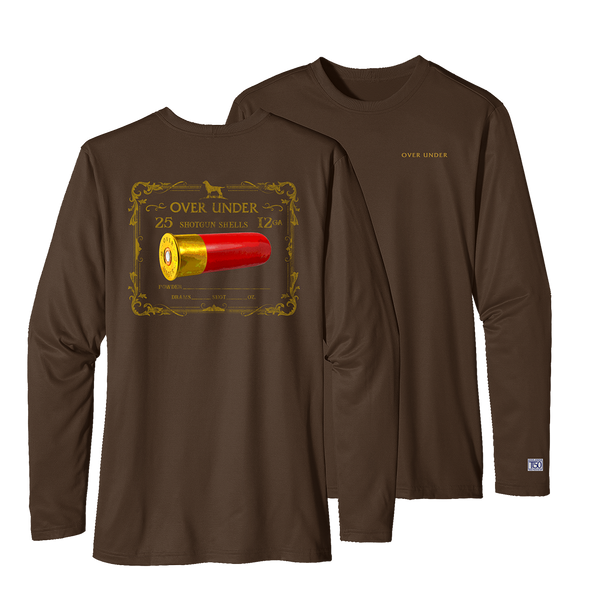 L/S Timber Tech High Brass Bark Brown