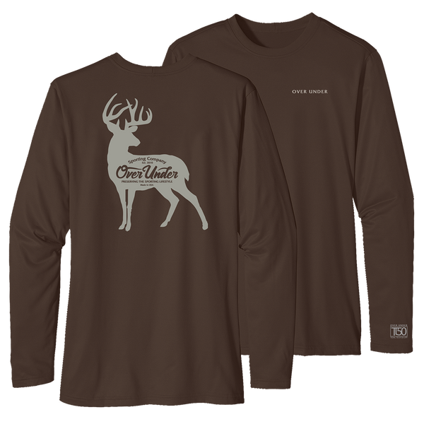 L/S Timber Tech Whitetail Silhouette