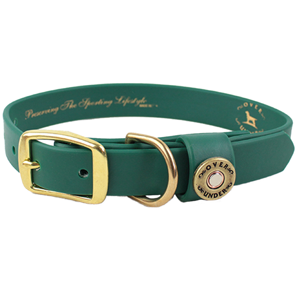 Water Dog Collar Alpine Green