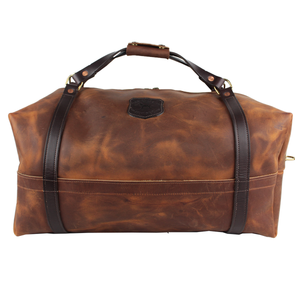 The Traditional Leather Duffle