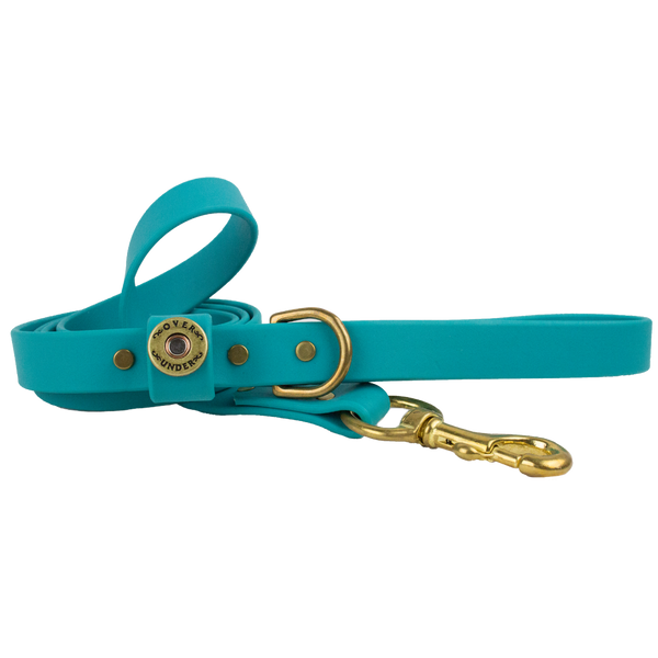Water Dog Leash Teal