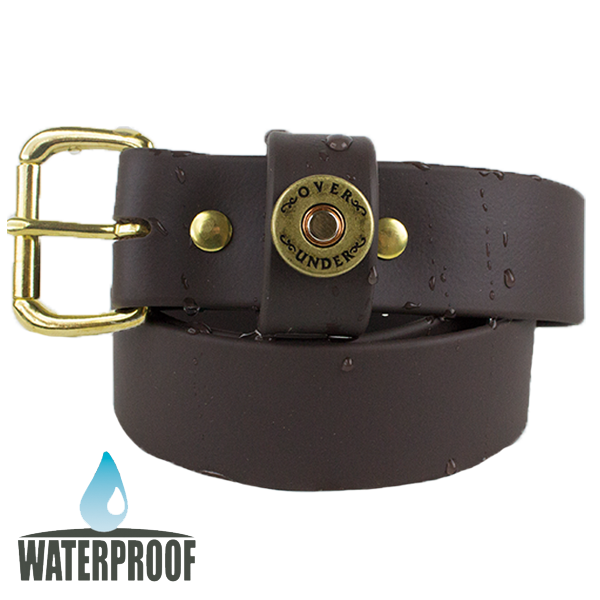 Waterproof Single Shot Belt Brown