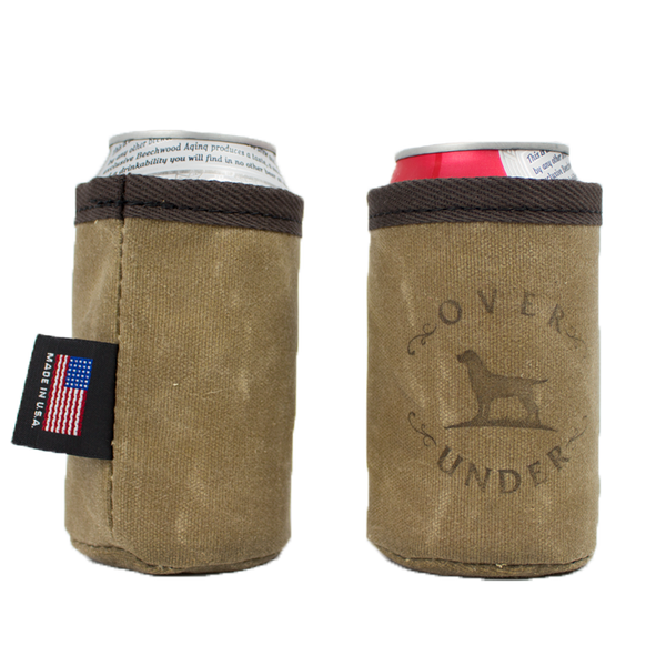 Wax Canvas Can Cooler
