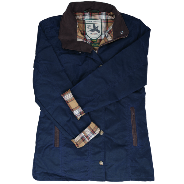 Women's Waxed Briar Jacket Navy