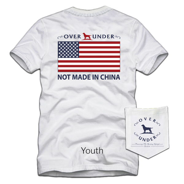 S/S Youth Not Made in China White