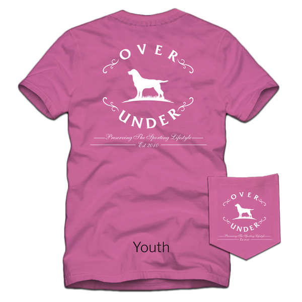 S/S Youth Original Logo Raspberry