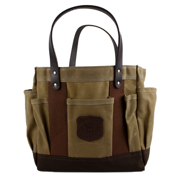 Waxed Rigger's Tote Field Tan/Brown