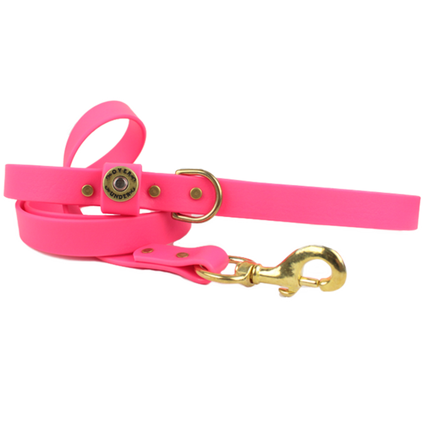Water Dog Leash Pink