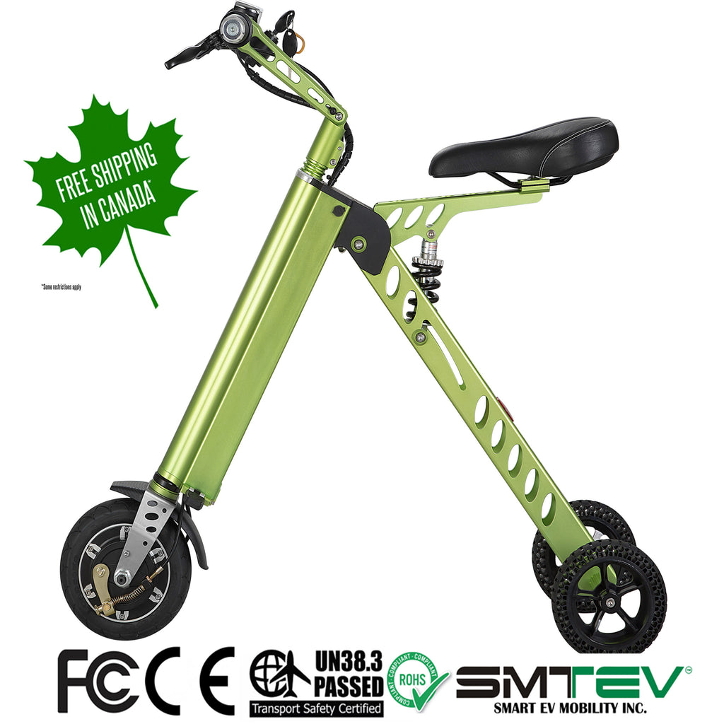 SMTEV™ Smart Fold Electric Scooter - SF1 - Scooter, smartevmobility, SMTEV smart ev, mobility, ev, smartev, smtev, canada, hoverboard, segway