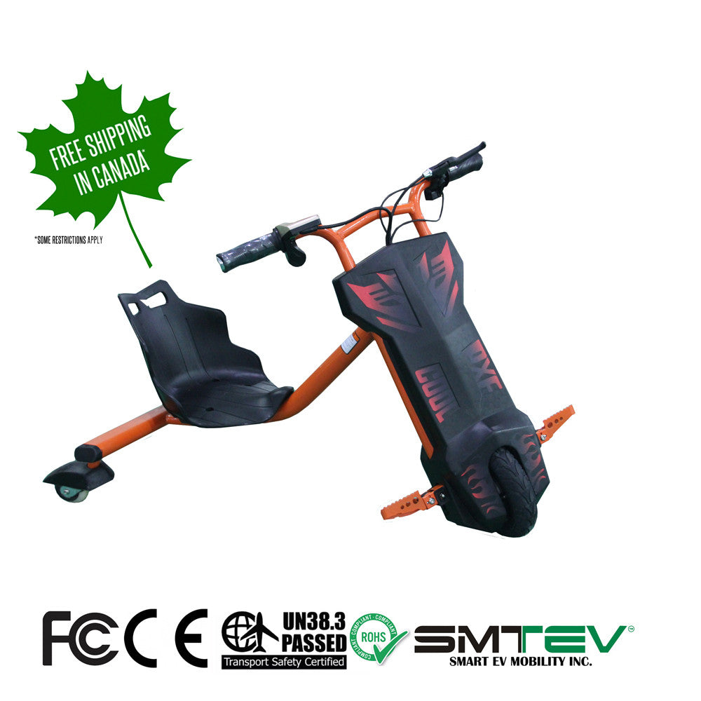 SMTEV™ Smart Drift Electric Drifting Tricycle - SD1 - Scooter, smartevmobility, SMTEV smart ev, mobility, ev, smartev, smtev, canada, hoverboard, segway