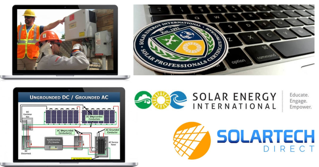 SolarTech Direct partners with Solar Energy International to offer training opportunities