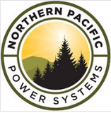 Northern Pacific Power Systems Logo