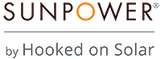 SunPower by Hooked On Solar Logo