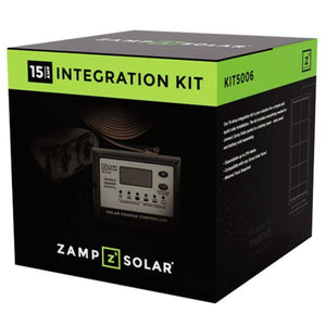 Zamp Solar 15 Amp Obsidian Integration Kit