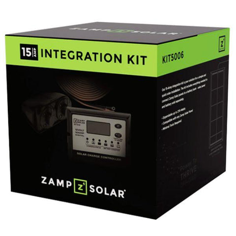 Image of Zamp Solar 15 Amp Obsidian Integration Kit