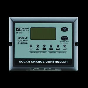 Zamp Solar 10-Amp 5-Stage Weatherproof Deluxe Digital PWM Charge Controller
