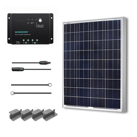 Image of 100W Solar Starter Kit From Renogy - 12V