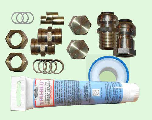 Heliatos Fittings Kit for RV Direct Circulation System