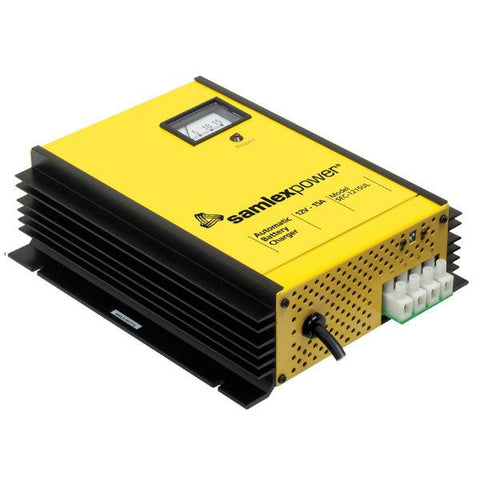 Image of 15 Amp Battery Charger From Samlex - 12V