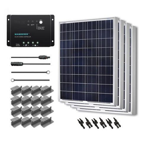 Image of 400W Solar Starter Kit From Renogy - 12V