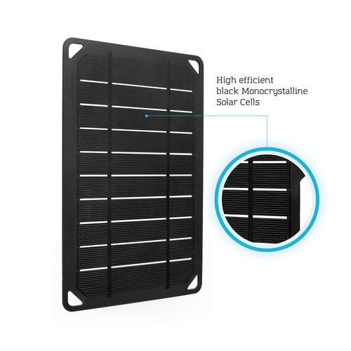 Renogy E Flex5 Monocrystalline Portable Solar Panel With