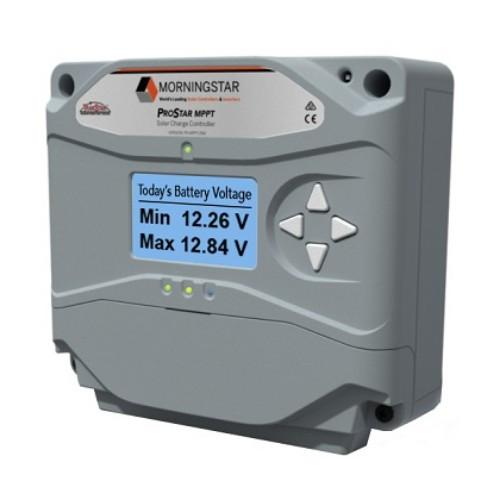 Morningstar ProStar 15amp With Meter (12/24V) MPPT Charge Controller PS-MPPT-25M