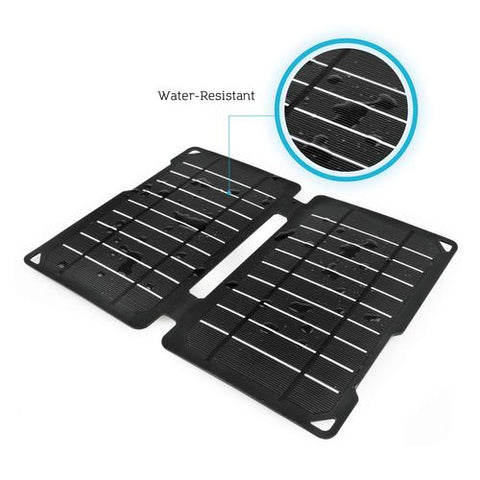 Renogy E.FLEX10 Monocrystalline Portable Solar Panel with USB Port