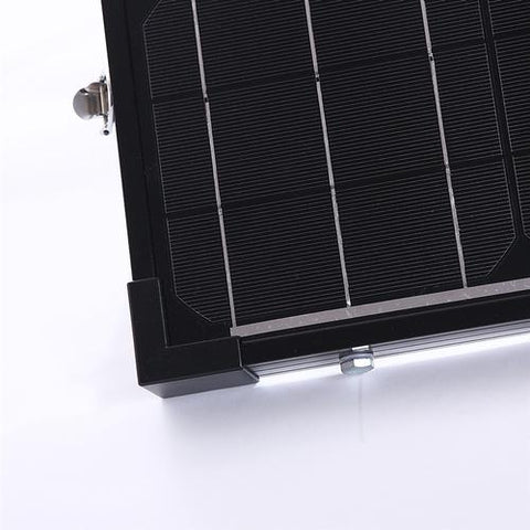 Image of 100W Foldable Solar Suitcase Without a Charge Controller From Renogy - 12V
