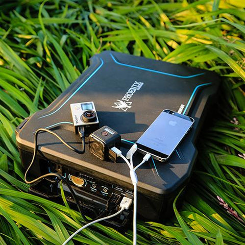 The Phoenix Solar Power Generator - 20W  All-in-one Solar Kit from Renogy