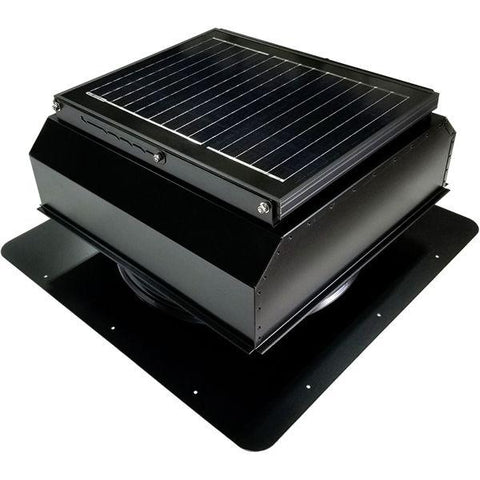 Image of Attic Breeze GEN 3 Self-Flashing 25 Watt Attached Solar Attic Fan