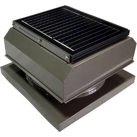 Image of Attic Breeze GEN 3 Curb Mount 25 Watt Attached Solar Attic Fan