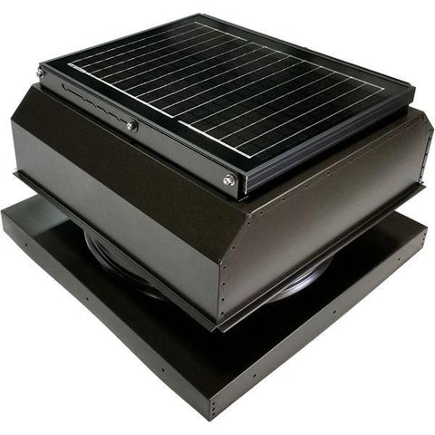 Attic Breeze GEN 3 Curb Mount 25 Watt Attached Solar Attic Fan
