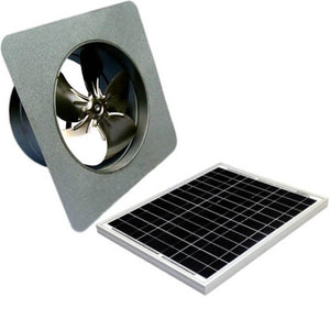 30 Watts Gable Mount GEN 2 Solar Attic Fans From Attic Breeze AB-3052