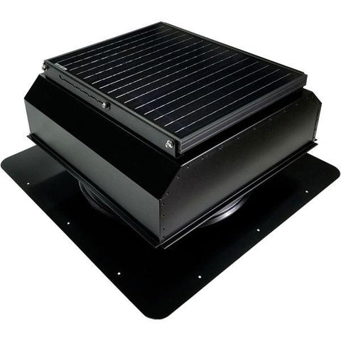 Image of Attic Breeze GEN 3 Self-Flashing 35 Watt Attached Solar Attic Fan