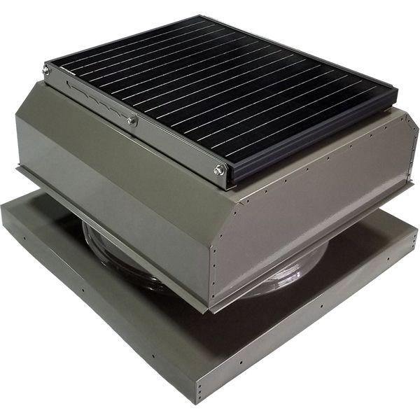 Attic Breeze GEN 3 Curb Mount 35 Watt Attached Solar Attic Fan