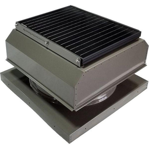 Image of Attic Breeze GEN 3 Curb Mount 35 Watt Attached Solar Attic Fan