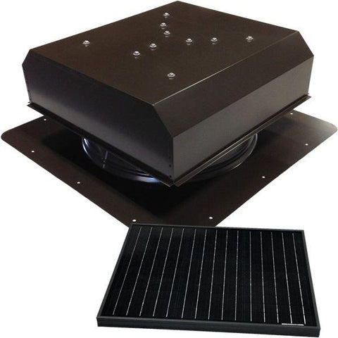 Image of Attic Breeze GEN 3 Self-Flashing 35 Watt Detached Solar Attic Fan