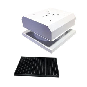 Attic Breeze GEN 3 Curb Mount 35 Watt Detached Solar Attic Fan