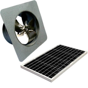 40 Watts Gable Mount GEN 2 Solar Attic Fans From Attic Breeze AB-4052
