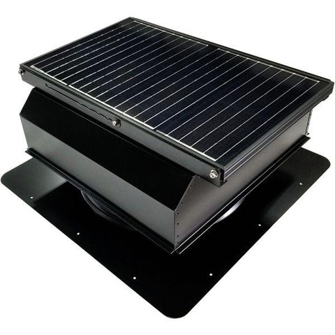 Image of Attic Breeze GEN 3 Self-Flashing 45 Watt Attached Solar Attic Fan
