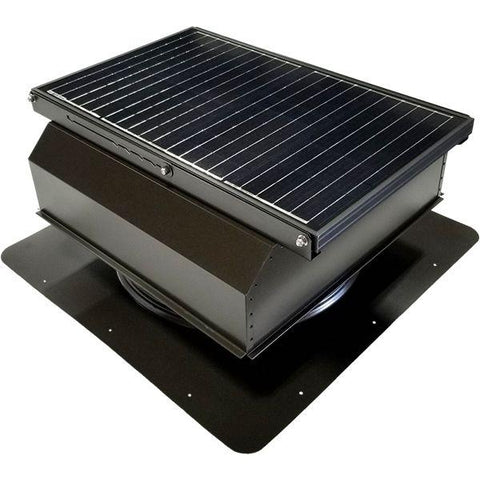Attic Breeze GEN 3 Self-Flashing 45 Watt Attached Solar Attic Fan