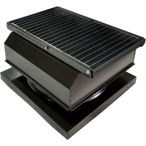 Attic Breeze GEN 3 Curb Mount 45 Watt Attached Solar Attic Fan