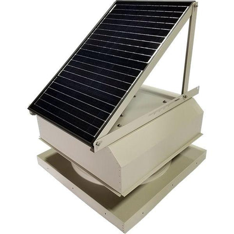 Image of Attic Breeze GEN 3 Curb Mount 45 Watt Attached Solar Attic Fan