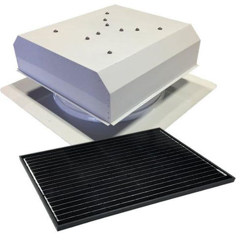 Image of Attic Breeze GEN 3 Self-Flashing 65 Watt Detached Solar Attic Fan